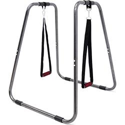 連體雙槓鞍馬架+懸吊訓練繩