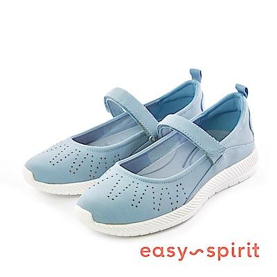Easy Spirit--彈性帶雕刻鞋面舒適走路鞋-活力藍