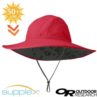 【美國 Outdoor Research】超輕3D全防曬抗UV透氣大盤帽_洋紅