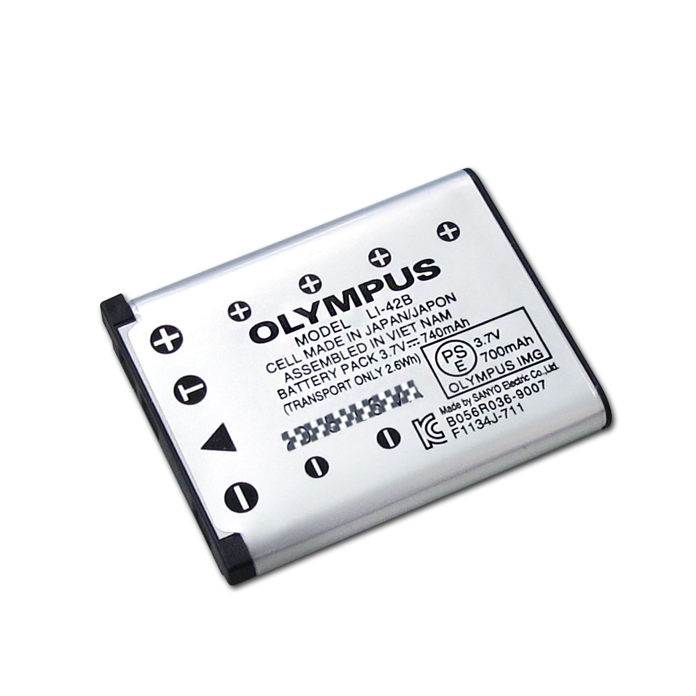 OLYMPUS Li-42B / Li-40B 適用相機電池 (全新密封包裝) @ Y!購物