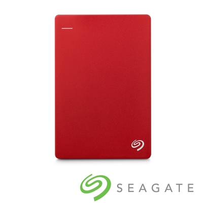 Seagate Backup Plus Silm 2TB USB3.0 2.5吋行動碟-紅