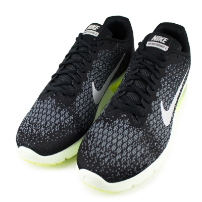NIKE AIR MAX SEQUENT2 男慢跑鞋 852461011 黑