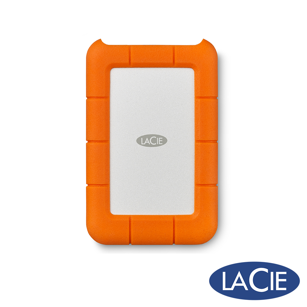 LaCie Rugged 1TB USB-C/USB3.0雙介面2.5吋行動硬碟