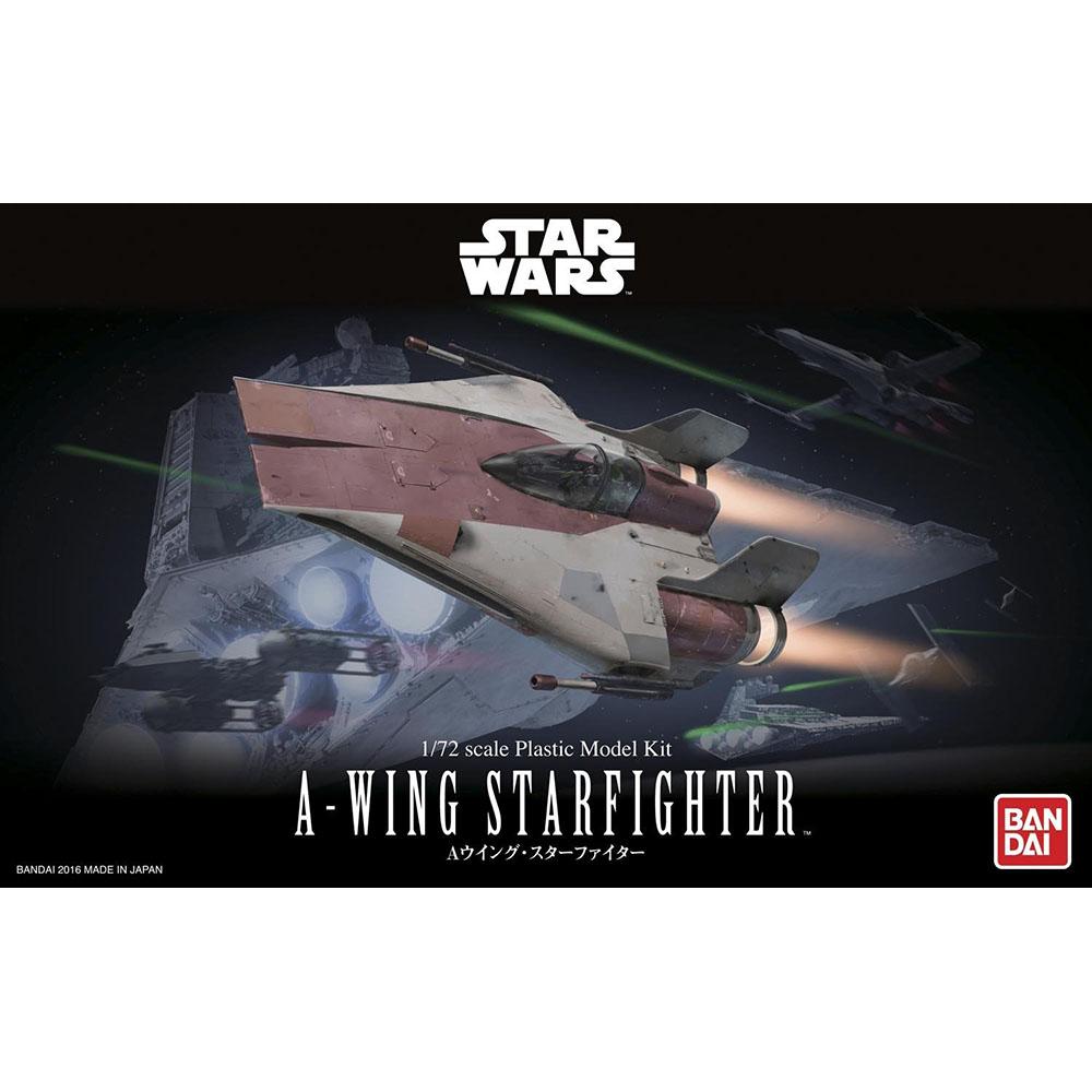 BANDAI 組裝模型 星際大戰 Star Wars 1/72 A翼星式戰機
