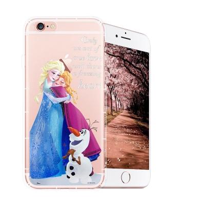 冰雪奇緣展場限定版 iPhone 6s Plus 空壓殼(艾莎安娜雪寶)