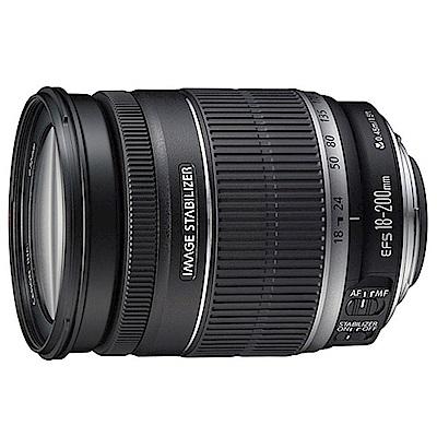 Canon EF-S 18-200mm F3.5-5.6 IS廣角望遠鏡頭(公司貨)