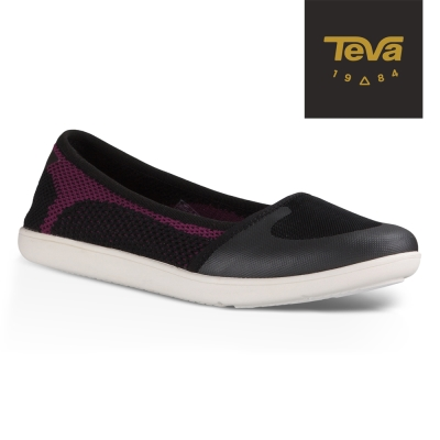 TEVA 美國 女 Hydro-Life Ballerina 輕量休閒鞋 (黑)