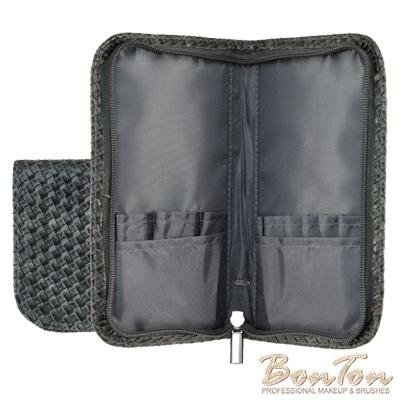 BonTon 9支黑皮革編織刷具包