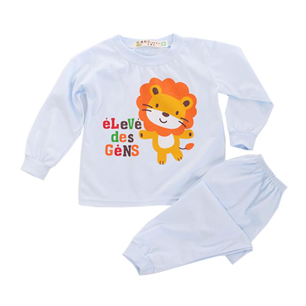 薄長袖居家套裝-可愛小獅  k60096