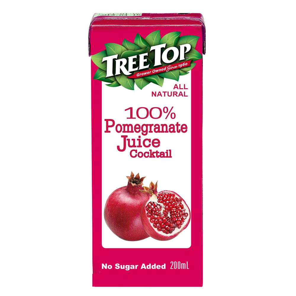 TreeTop樹頂 100%石榴莓綜合果汁利樂包(200mlx6入)