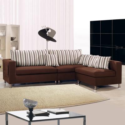 典雅大師 居禾簡約L型舒適布沙發