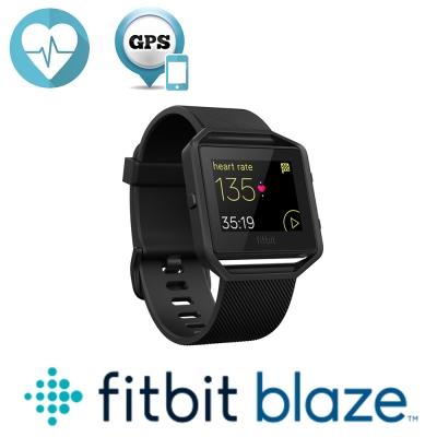 Fitbit Blaze Gun mental 智能健身手錶 消光黑