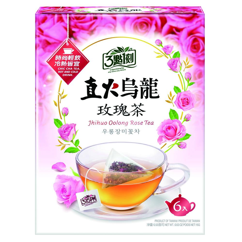 3點1刻 直火烏龍玫瑰茶(2.5gx6包)
