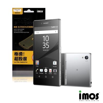iMos-TouchStream Sony Z5 Premium 背面霧面抗污防...