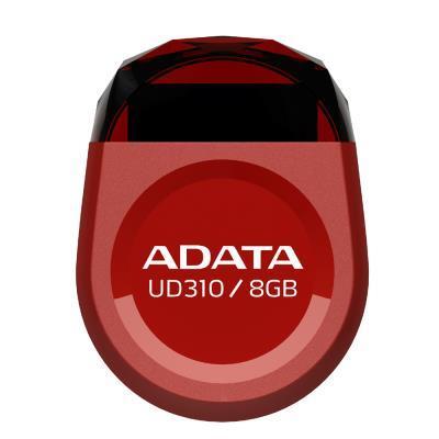 ADATA 威剛 8GB 隨身碟 UD310 迷你造型-紅色