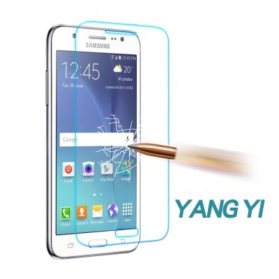 YANGYI揚邑 Samsung Galaxy J5 防爆防刮防眩弧邊 9H鋼化...
