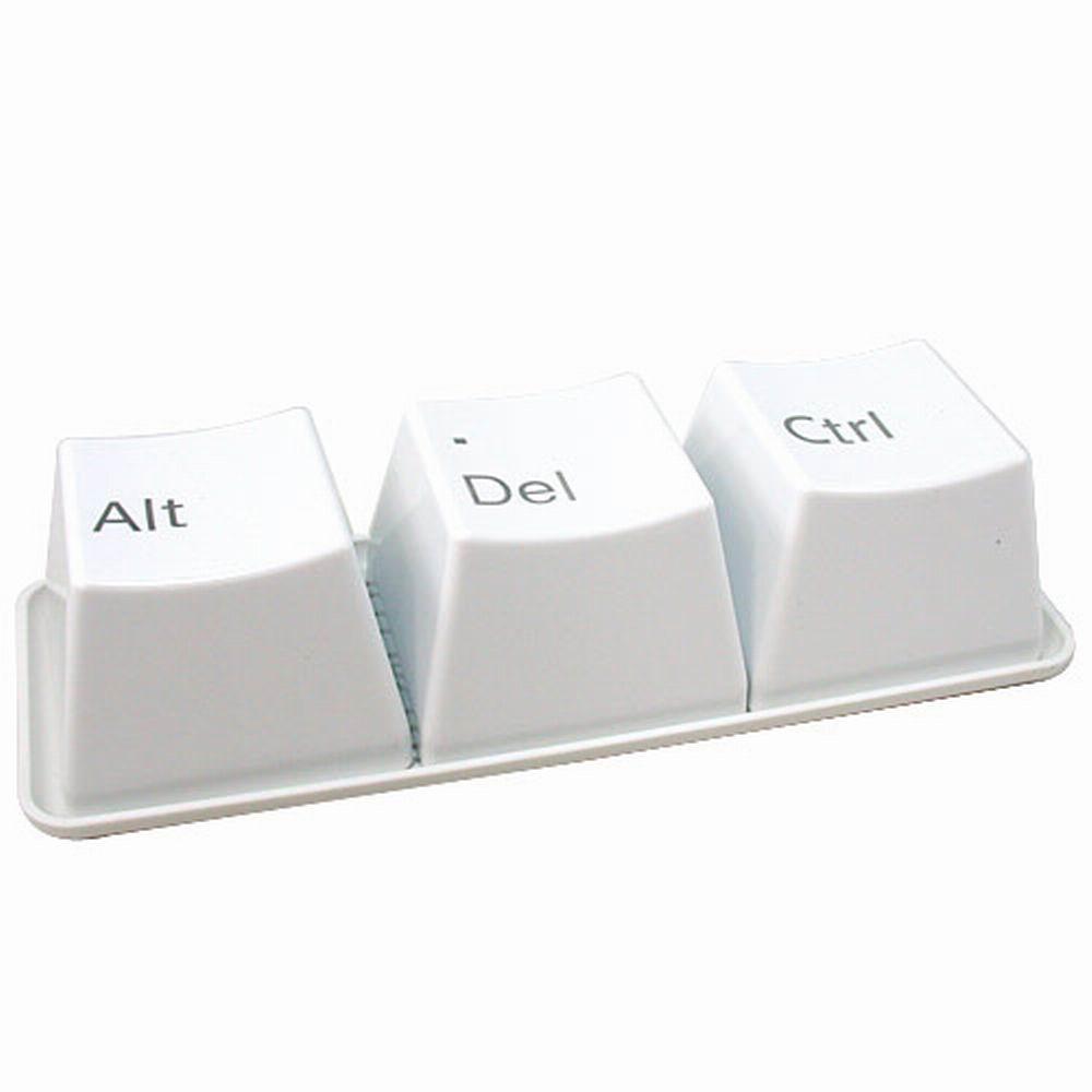 【iSFun】創意生活鍵盤造型杯組(白)