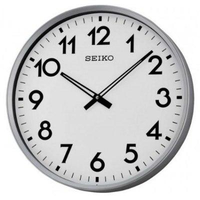 SEIKO 日本精工 大型辦公室掛鐘 標準鍾(QXA560S)白/42cm