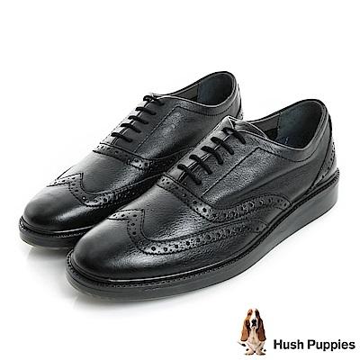 Hush Puppies SHIBA 設計感休閒鞋-黑色