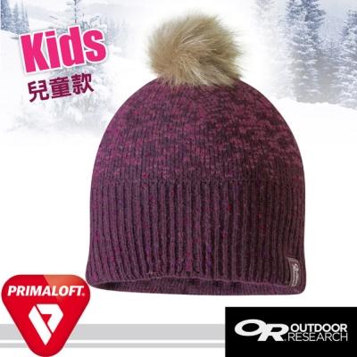 【Outdoor Research】兒童 Effie 輕量抗水透氣羊毛保暖帽子/紫紅