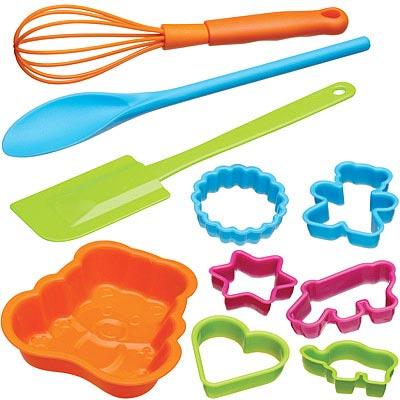 KitchenCraft 兒童烘焙模具10件組