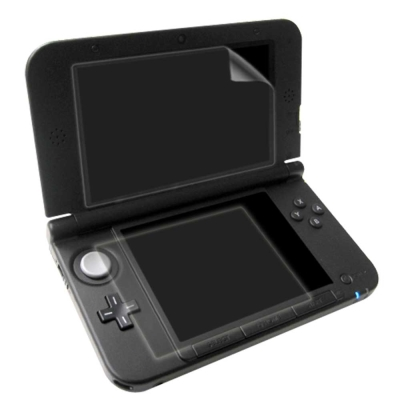3DS LL XL (上螢幕+下螢幕)高透明豔彩防刮螢幕貼