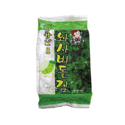 韓味不二 海樂多美味海苔-芥末(5gx12入)