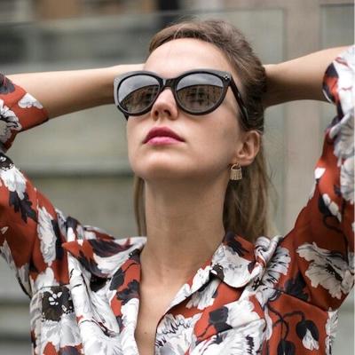 CHLOE太陽眼鏡 法式優雅/黑#CL669SA 003