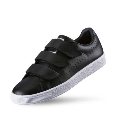 PUMA BasketClassicStrapB&W男女復古籃球運動鞋-黑