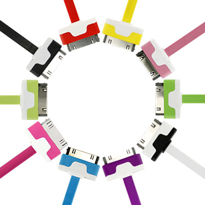 APPLE iphone/ ipad 彩色糖果充電傳輸線