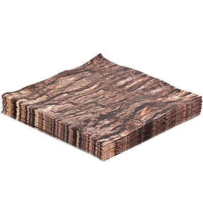 KIKKERLAND 仿木餐巾紙(黑樺)