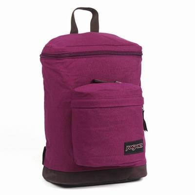 JanSport校園背包(BARHOP)-神秘紫