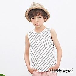 Little moni 簡約條紋背