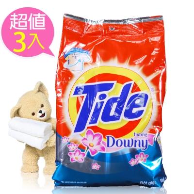進口原裝汰漬TIDE全效洗衣粉3.8KG(花香)三入