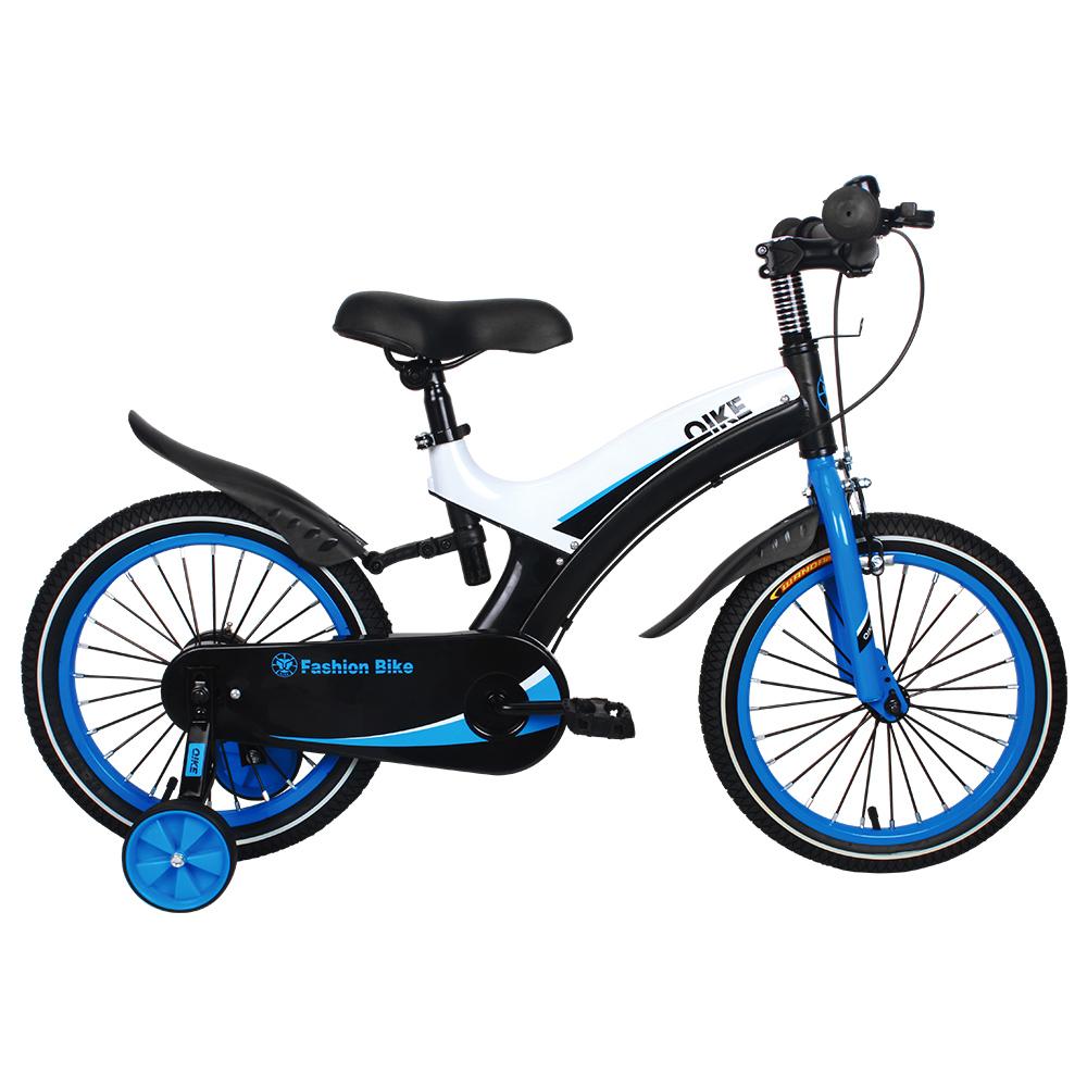 寶貝樂精選16吋寶馬腳踏車打氣胎童車-藍
