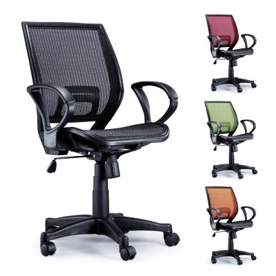 AS-弗洛網布流線美背辦公椅-58x61x98-5
