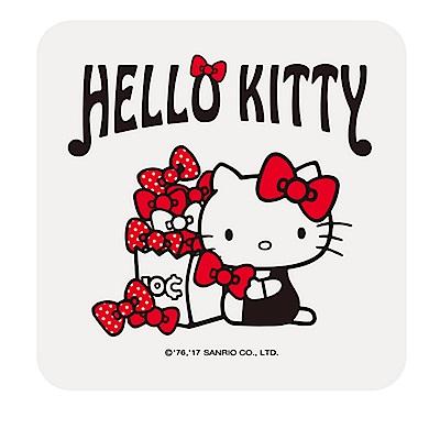 【三麗鷗獨家授權】Hello Kitty繽紛彩繪杯墊/皂盤-禮物滿滿