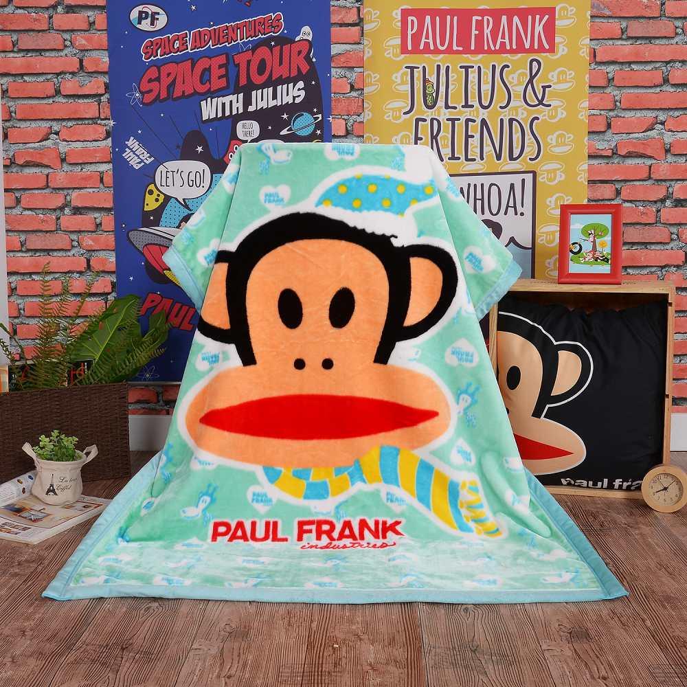Paul Frank 水漾青春 頂級加厚法蘭絨休閒毯