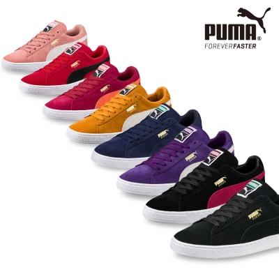 PUMA-Suede Classic + 男女復古籃球運動鞋