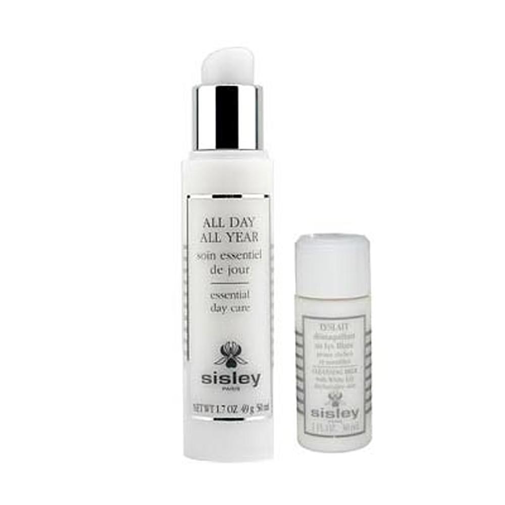SISLEY希思黎 全能防禦精華+百合花保濕潔膚乳