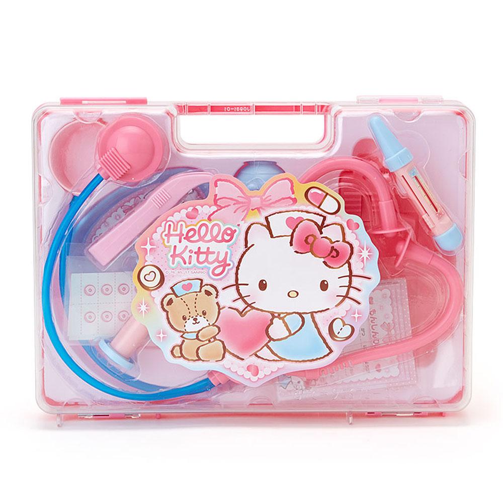 Sanrio HELLO KITTY家家酒玩具醫護提盒組