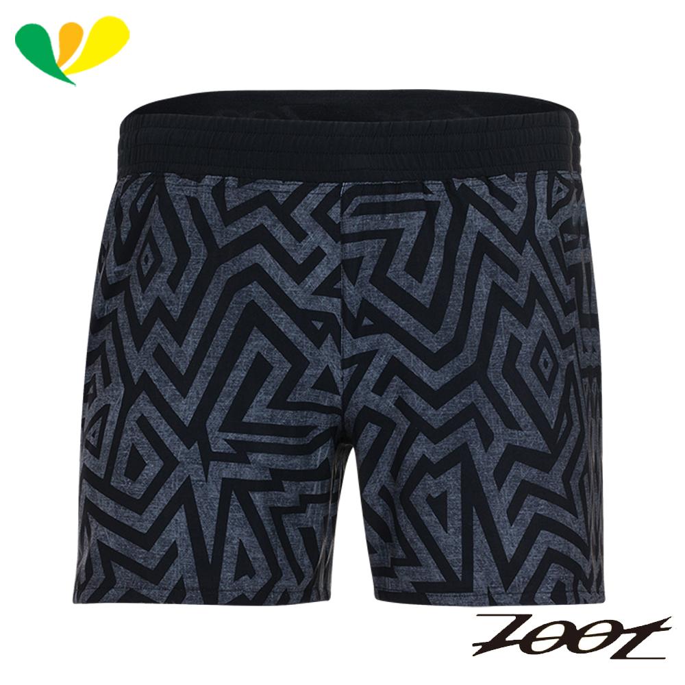 ZOOT 頂級極致冰涼感5吋路跑短褲(男) Z1704025(幻影黑)