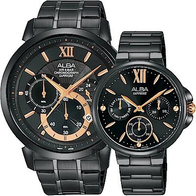 ALBA雅柏 Prestige 情人限定對錶(AT3D23X1+AP6579X1)