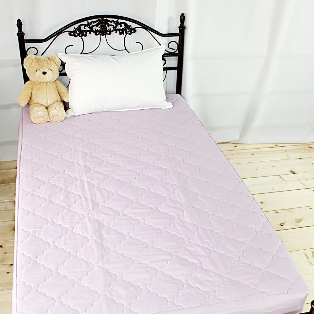 bedtime story 超Q果凍色保潔墊-迷情紫-雙人一般5尺-加高床包式