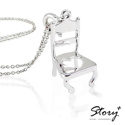 STORY故事銀飾-個人取向 宴會椅 項鍊款