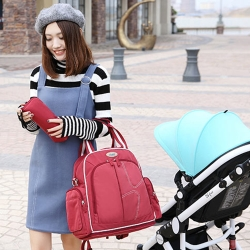 YABIN台灣總代理多功能大容量一包四用媽咪包