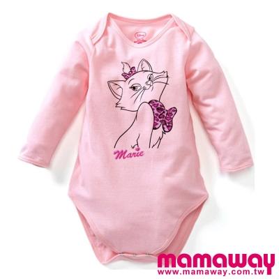 Mamaway-迪士尼淺粉瑪麗貓包屁衣