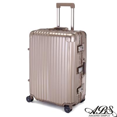 ABS愛貝斯 M3系列 20吋鋁框海關鎖行李箱(香檳金)99-051C