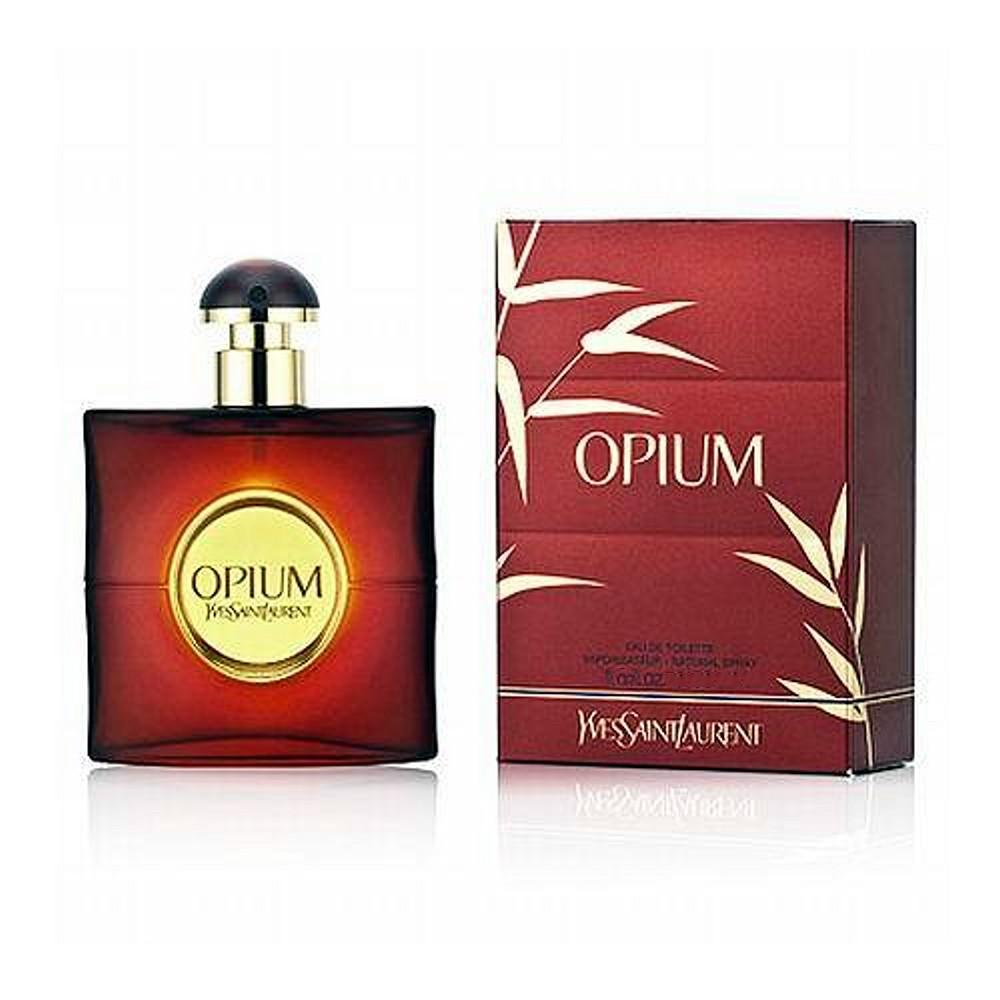 Yves Saint Laurent Opium 鴉片女性淡香水 50ml 外盒壓傷