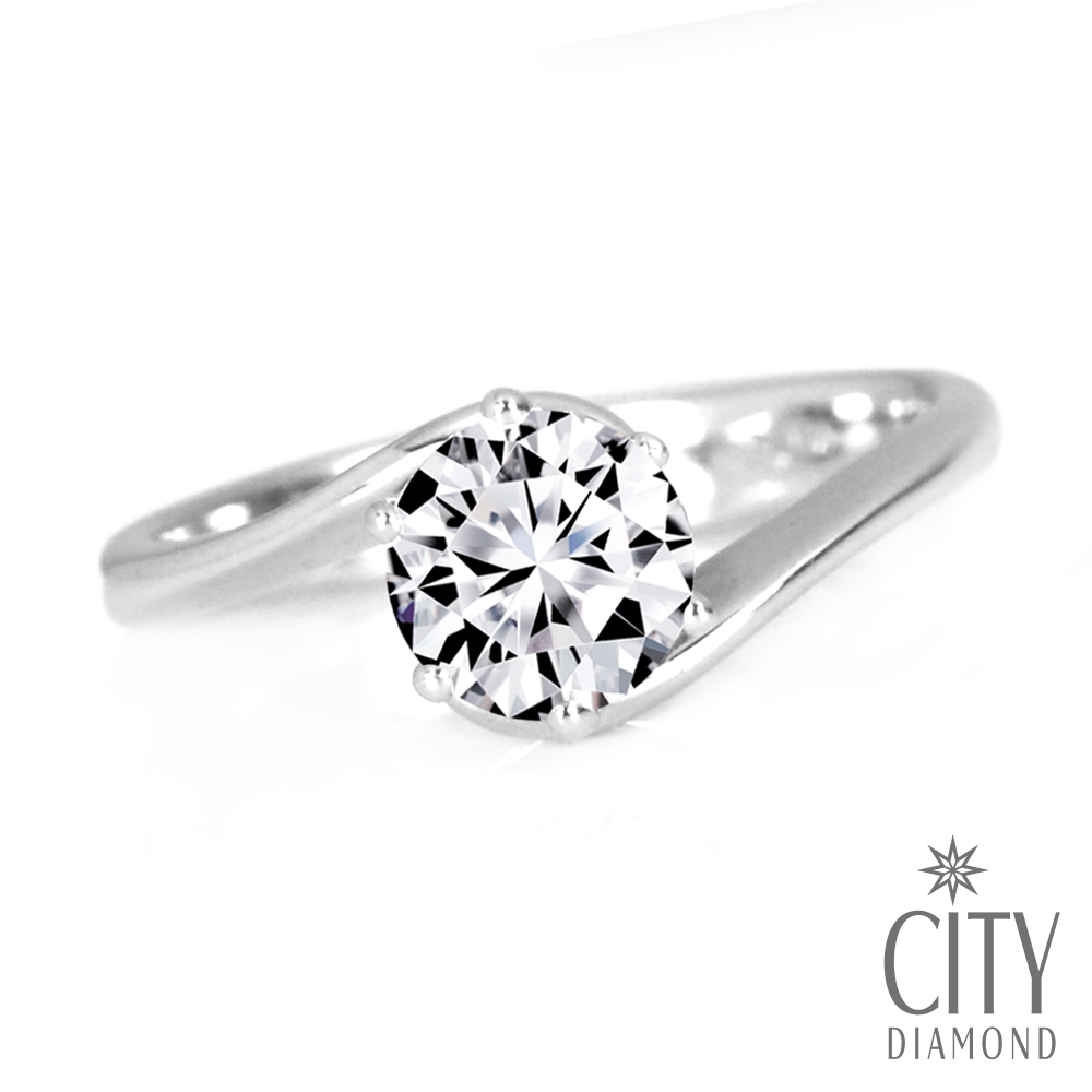City Diamond引雅『經典謬思』30分鑽石戒指